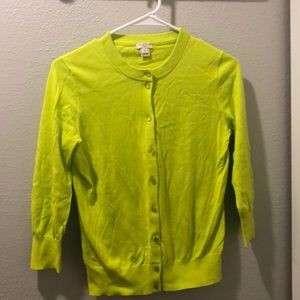 """J-crew """"The Clare Cardigan"""" - Size Small"""